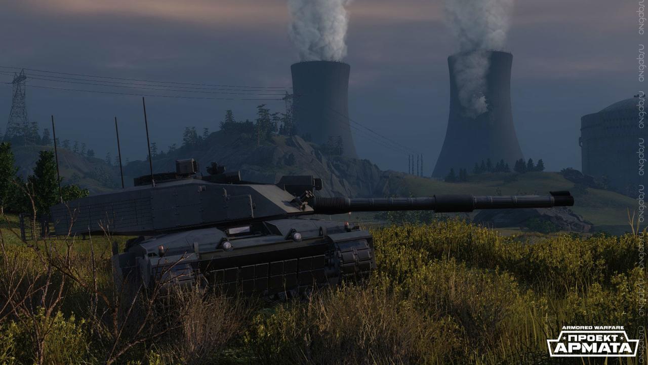 Основной боевой танк Challenger 2
