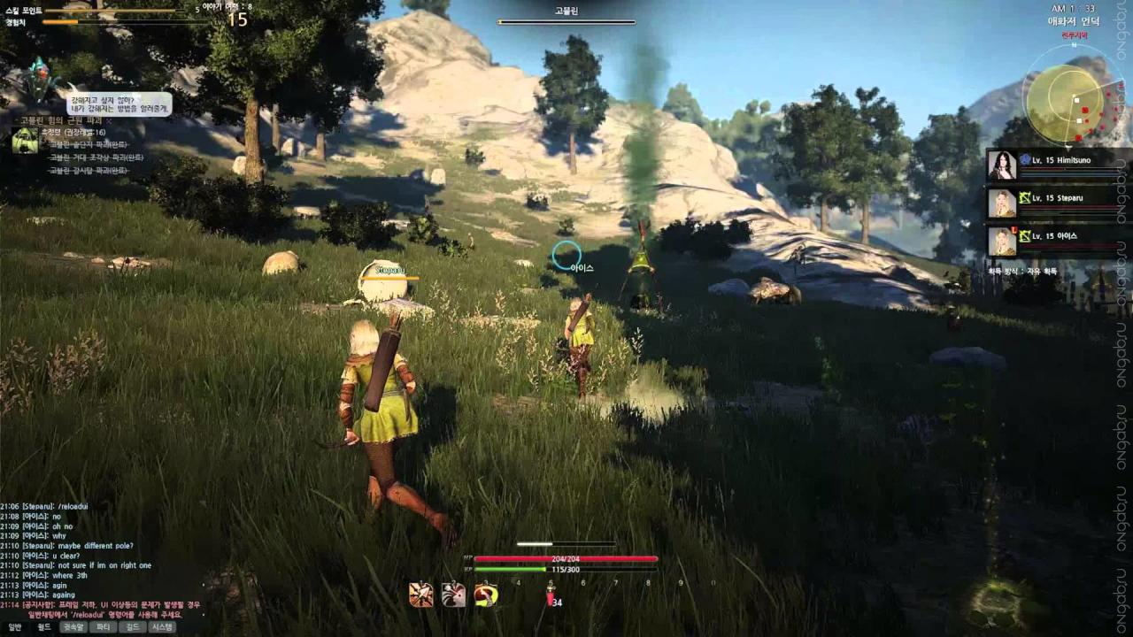 Открытый бета-тест корейской версии MMORPG Black Desert