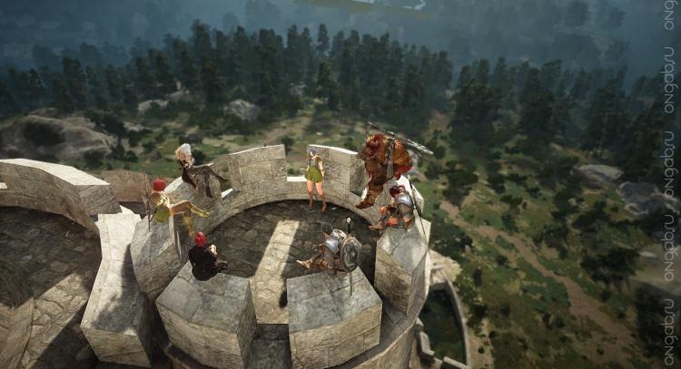 Замки и осады