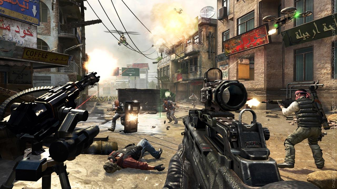 Начался открытый бета-тест Call of Duty Online