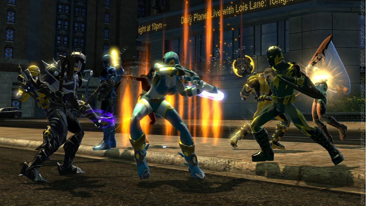 «Чистка» имёнв MMORPG DC Universe Online