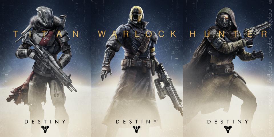 Классы персонажа в Destiny
