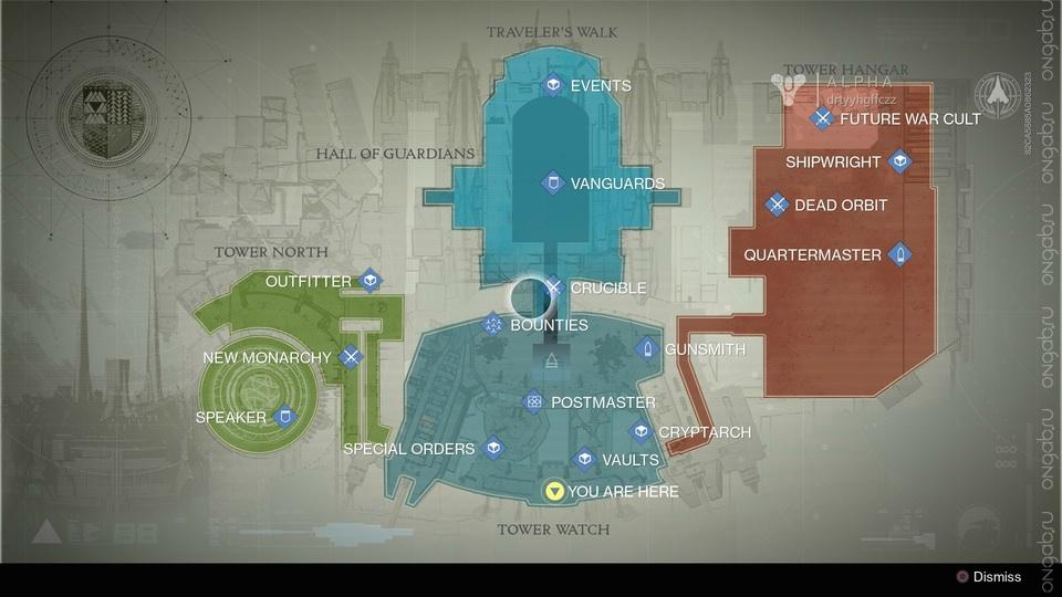 Tower - локация игры Destiny