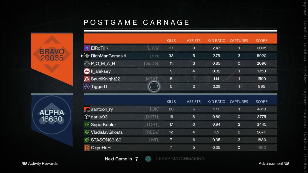 Скриншот Destiny #433621