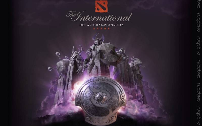 Старт The International 2014