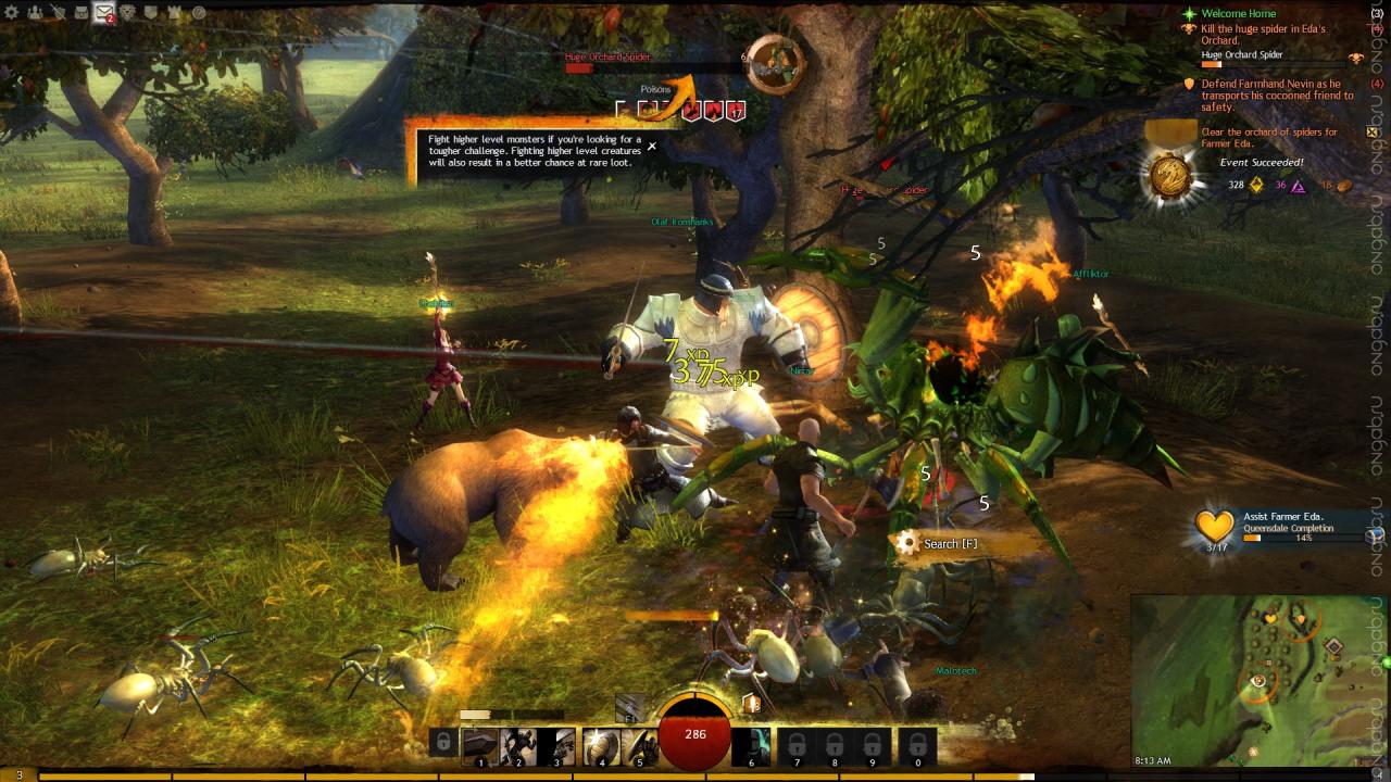 Очередные усовершенствования мегасерверной системы в Guild Wars 2