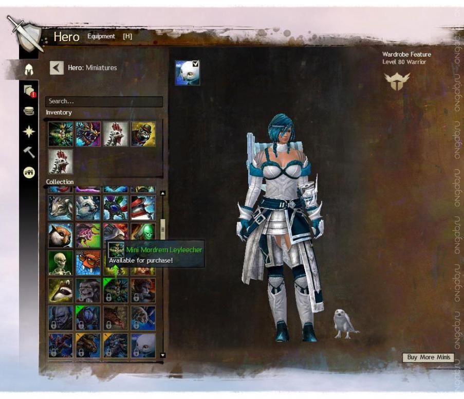 О миниках и финишерах в обновлении September 2014 Feature Pack для Guild Wars 2
