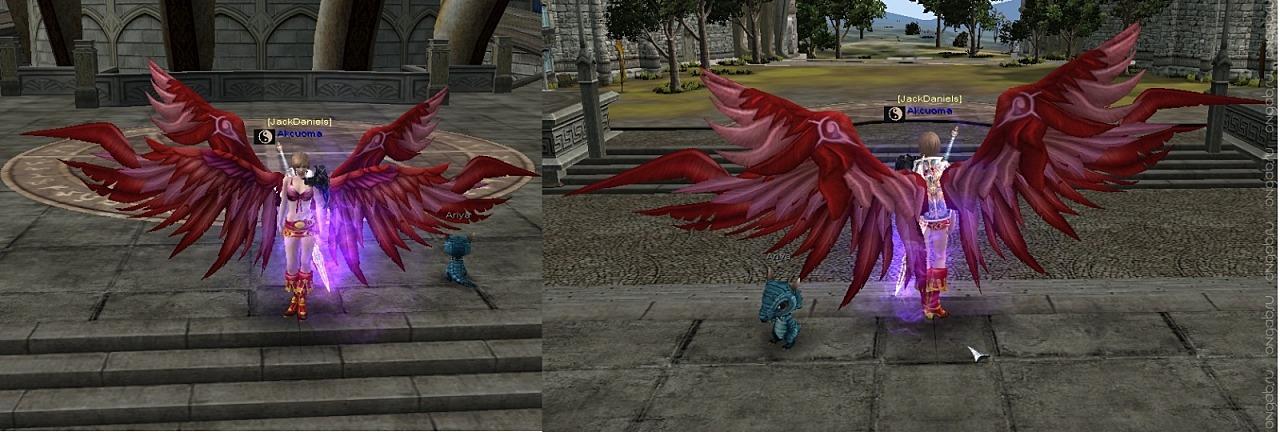 Новый аватар крыльев защиты