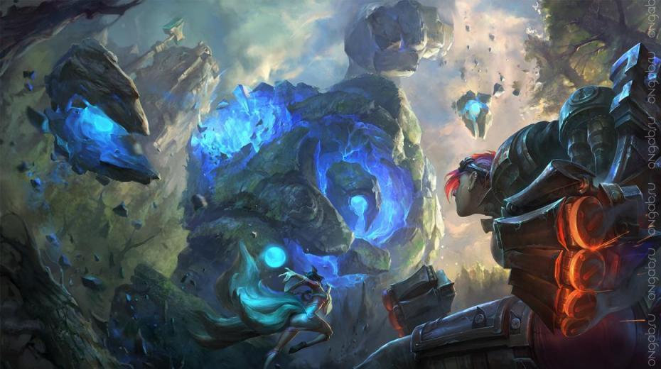 Модификация главной карты в League of Legends