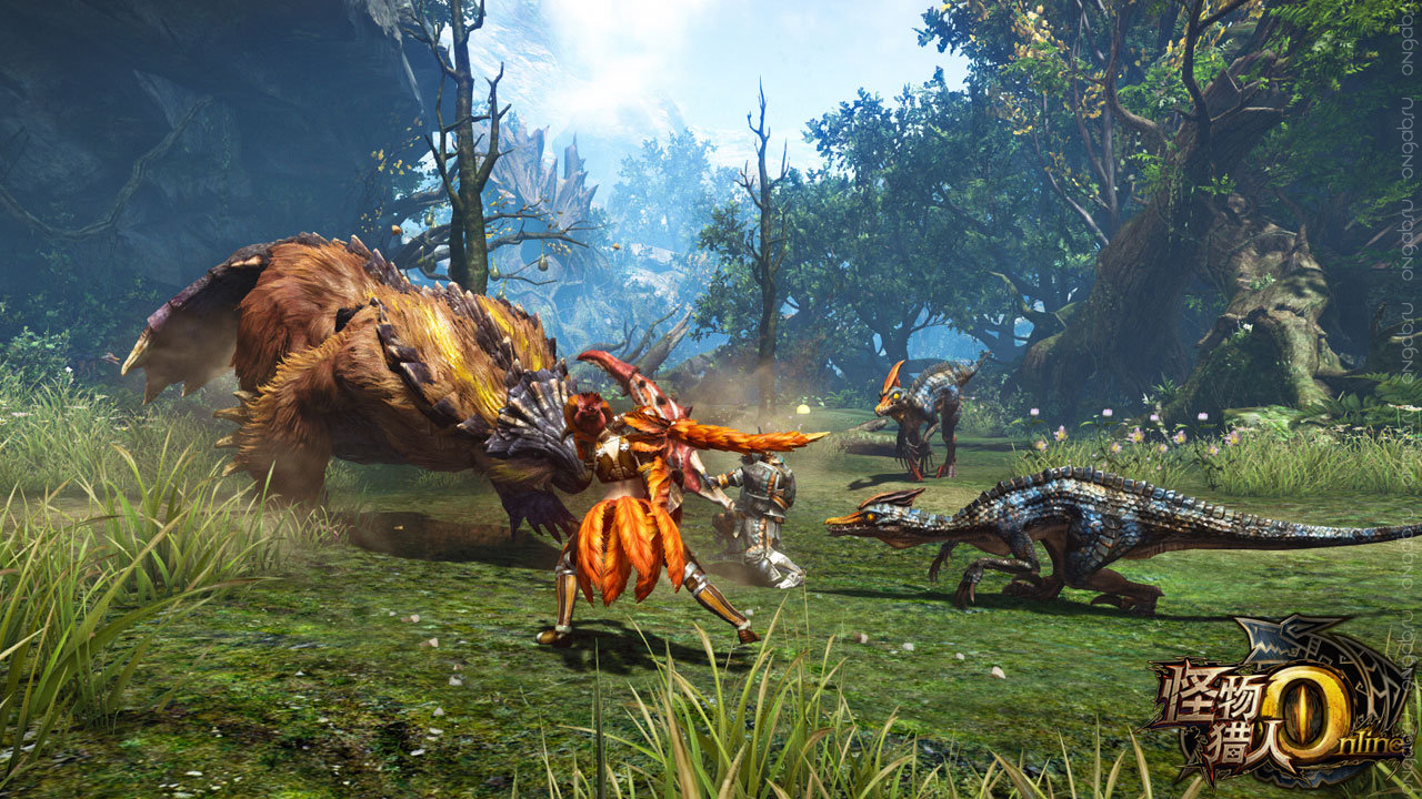 Ждём новую стадию ЗБТ Monster Hunter Online в 2015 году
