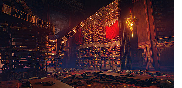 Новый видео-трейлер  посвященный инстансу Библиотека Эрнарда.