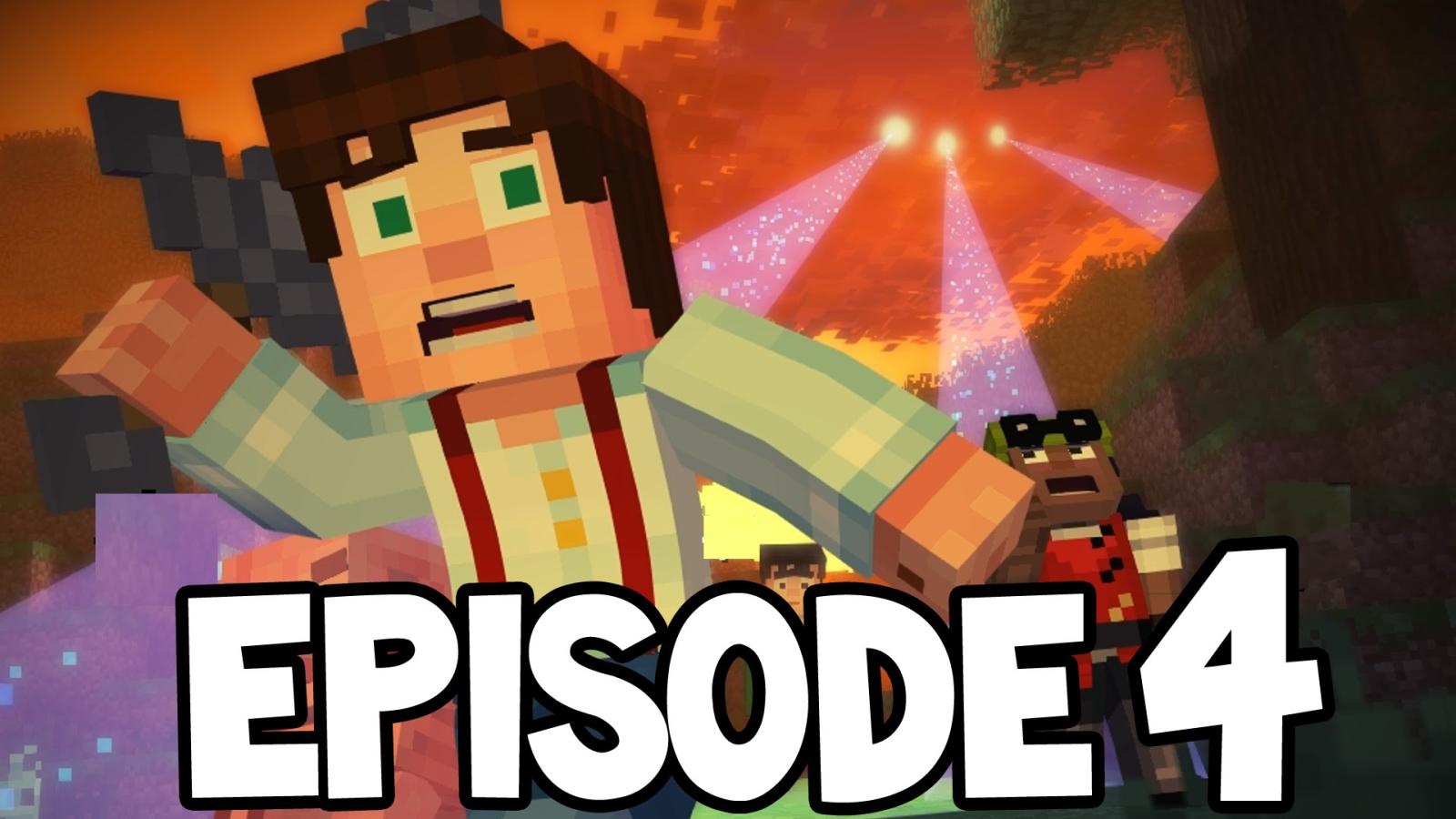 Minecraft:  дата выхода четвертого эпизода