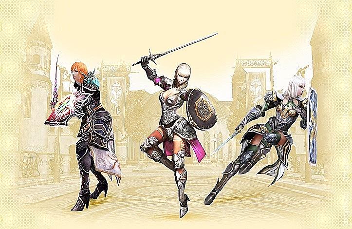 Паладин-Священный рыцарь-Серебряная дева