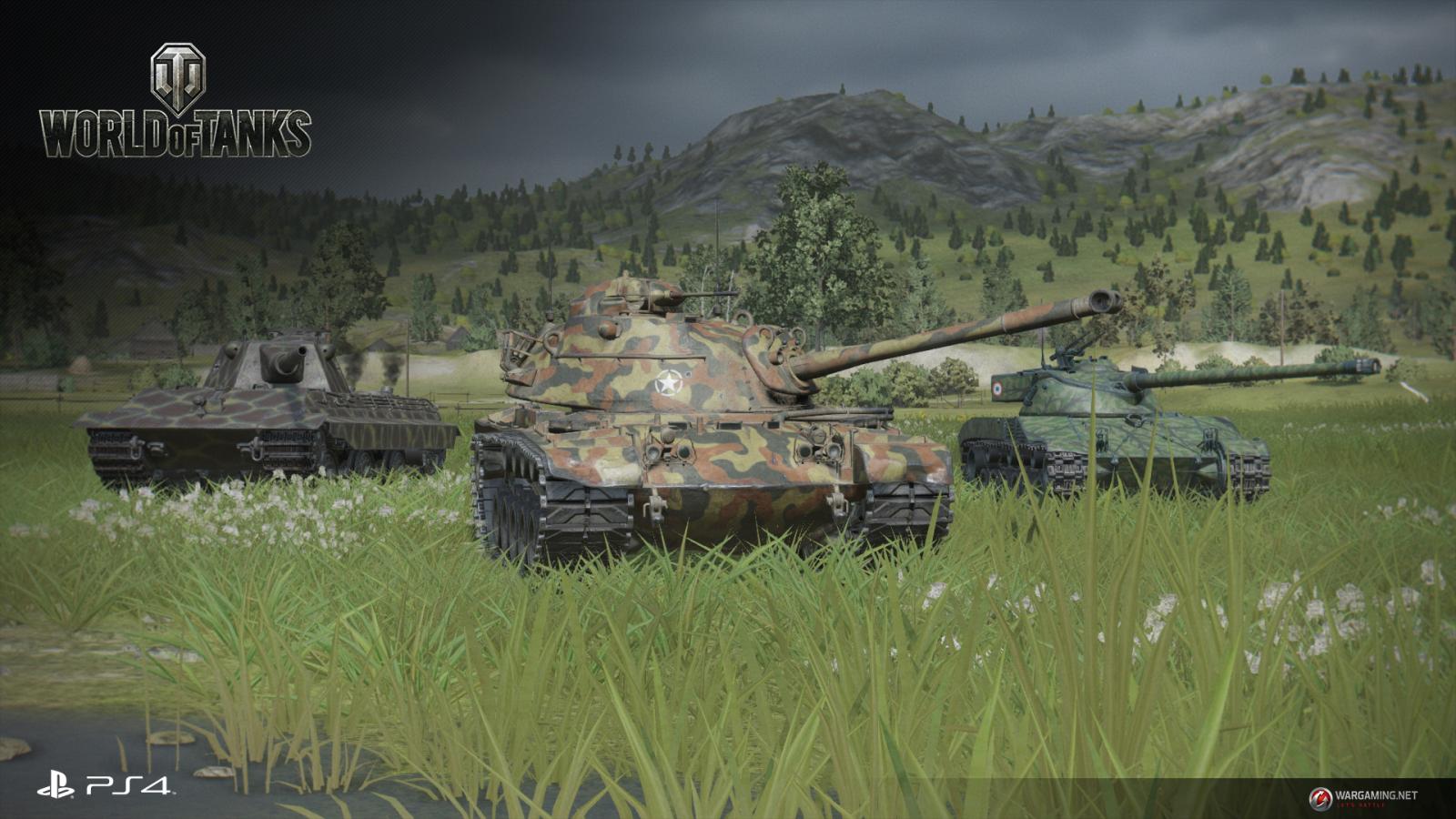 World of Tanks - дата выхода PS4-версии