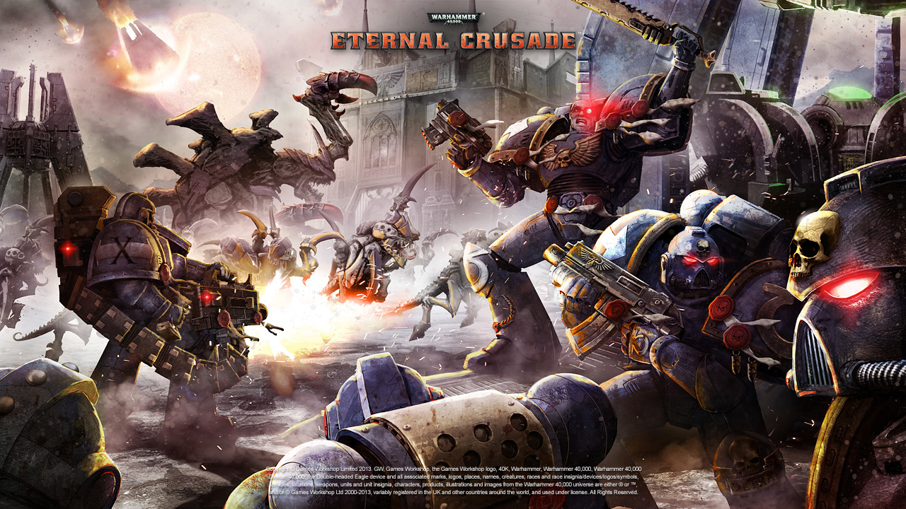 Warhammer 40000: Eternal Crusade - выход в Steam