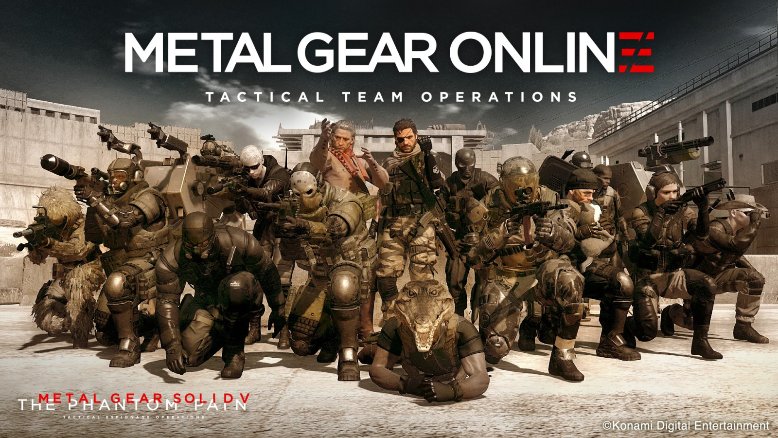 Metal Gear Solid V: The Phantom Pain - выход Metal Gear Online