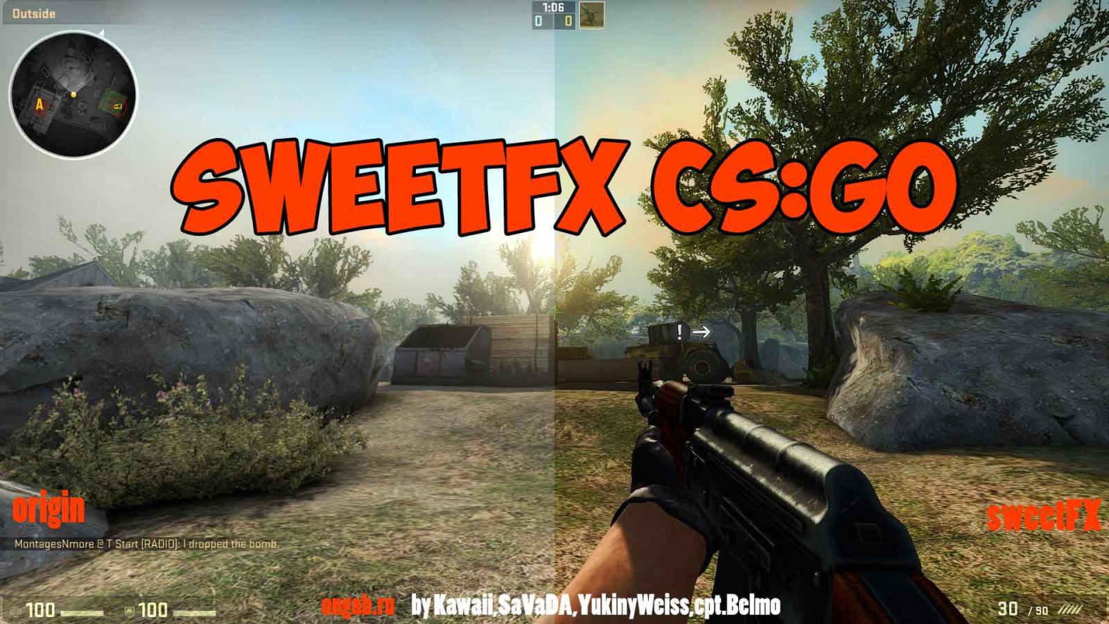 Counter-Strike Global Offensive - SweetFX, как сделать более красочной
