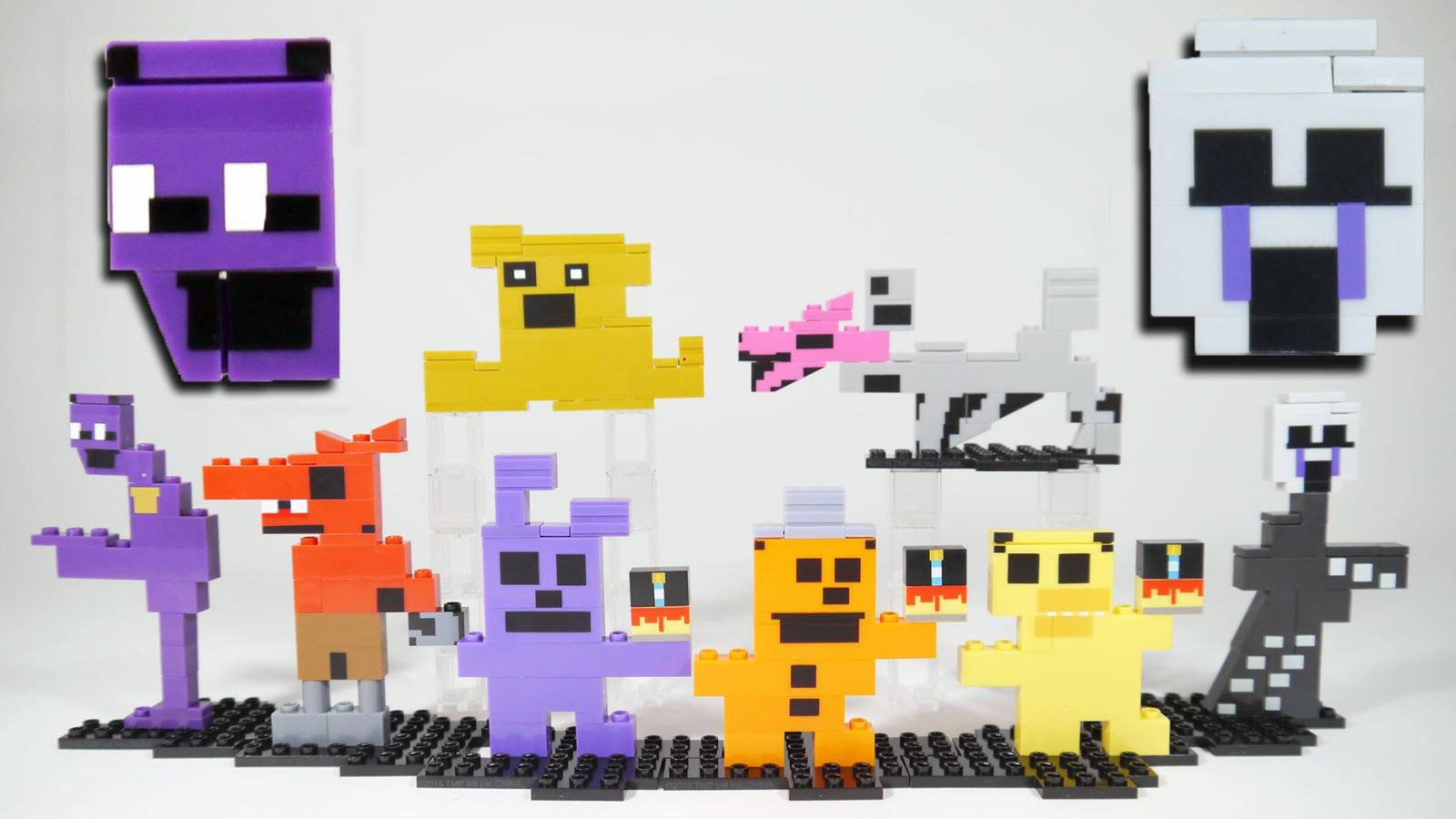 Пиксельные ручки, игрушки, одежда и аксессуары в стиле 8-bit