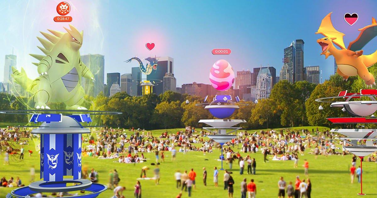 Экономическая реформа: обновление Pokemon Go