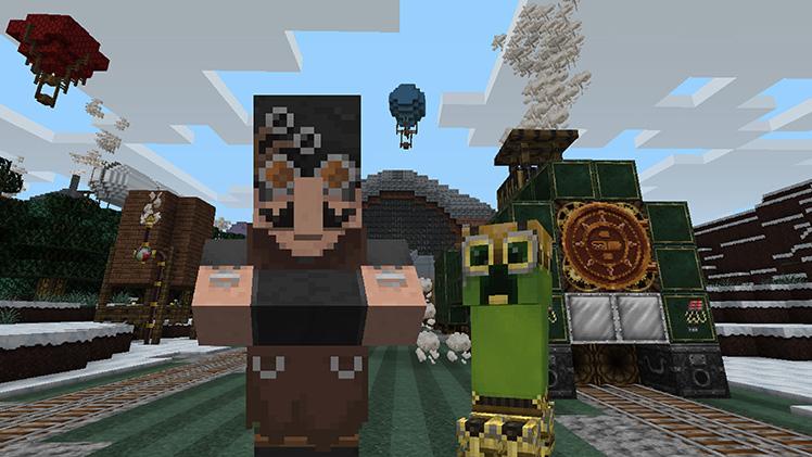 Одетый для убийства: вышли новые скины и Infinity Dungeon EX для Minecraft