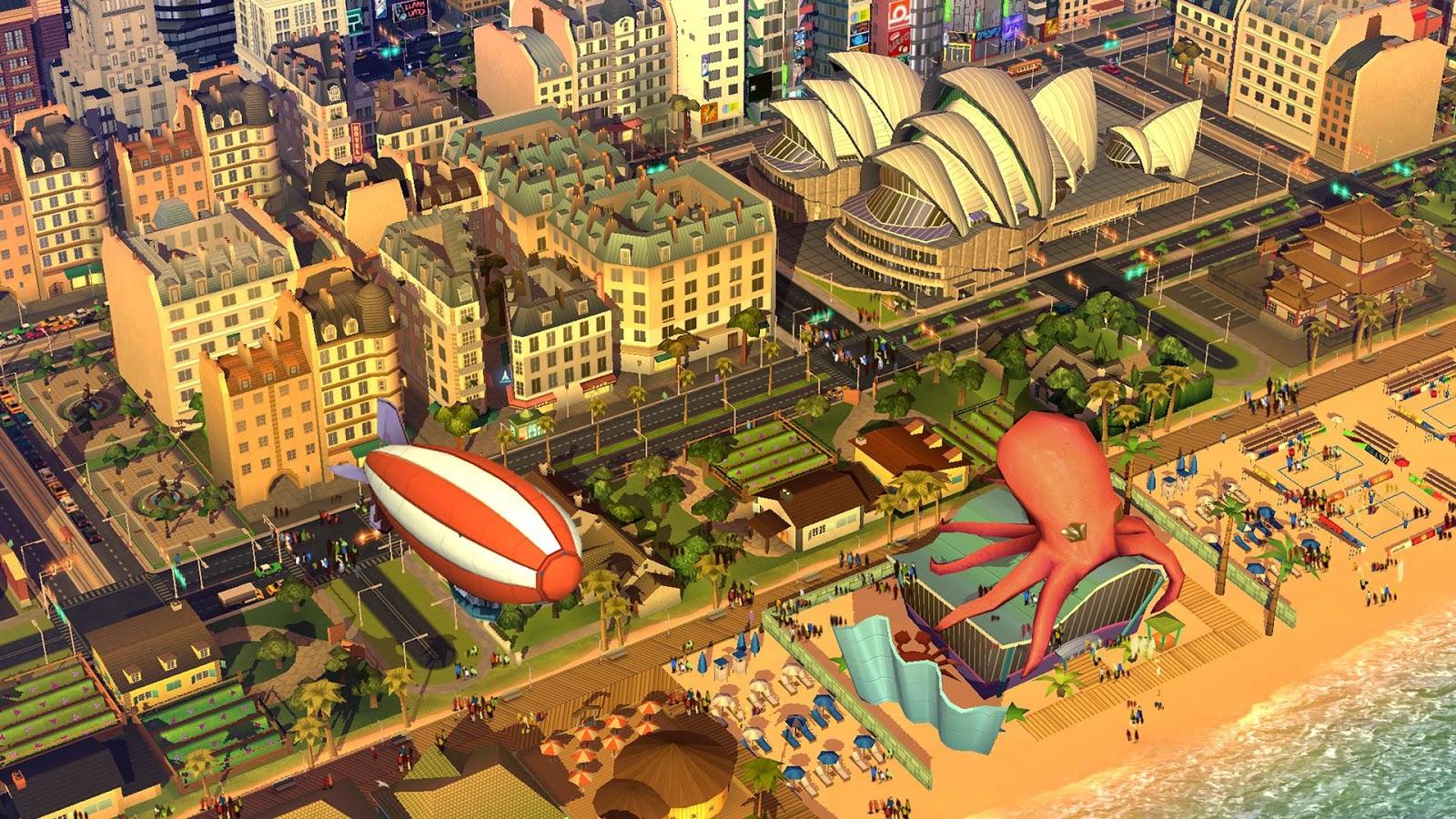 Мир у твоих ног: краткий обзор SimCity Buildit