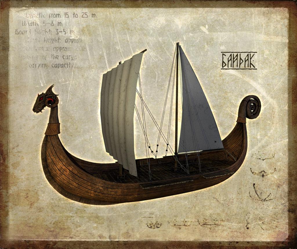 Водный транспорт в Ancient Siberia