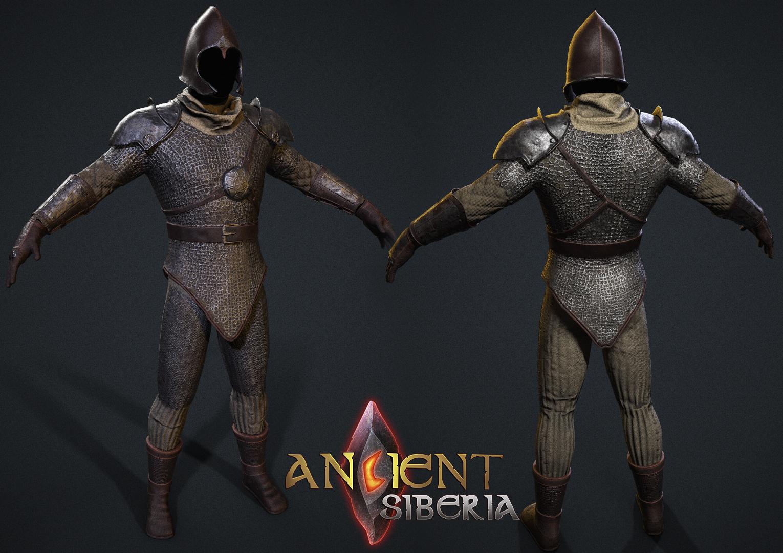 Одежда и обмундирование в игре Ancient Siberia