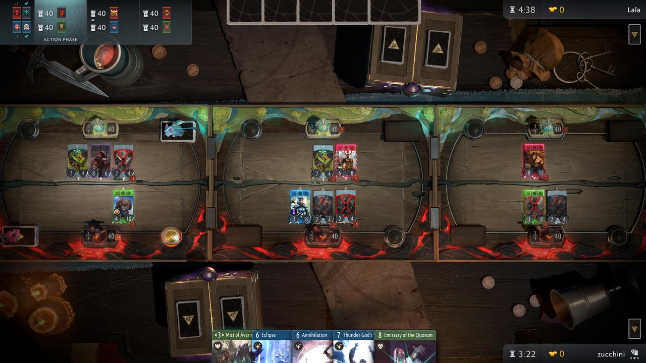 Боевая карта: Valve аннонсировала игру в рамках вселенной Dota 2