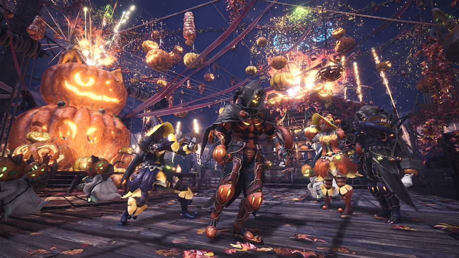 Светильник Джека: объявлена дата второго сезонного ивента Monster Hunter: World