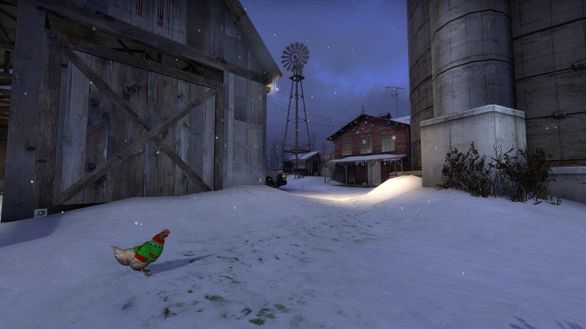 С праздником: в игре начался зимний ивент