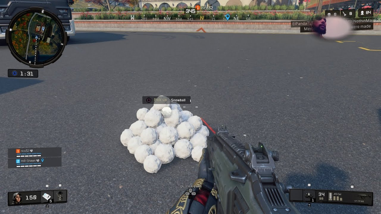 Праздник на поле боя: Call of Duty: Black Ops 4 обновилась