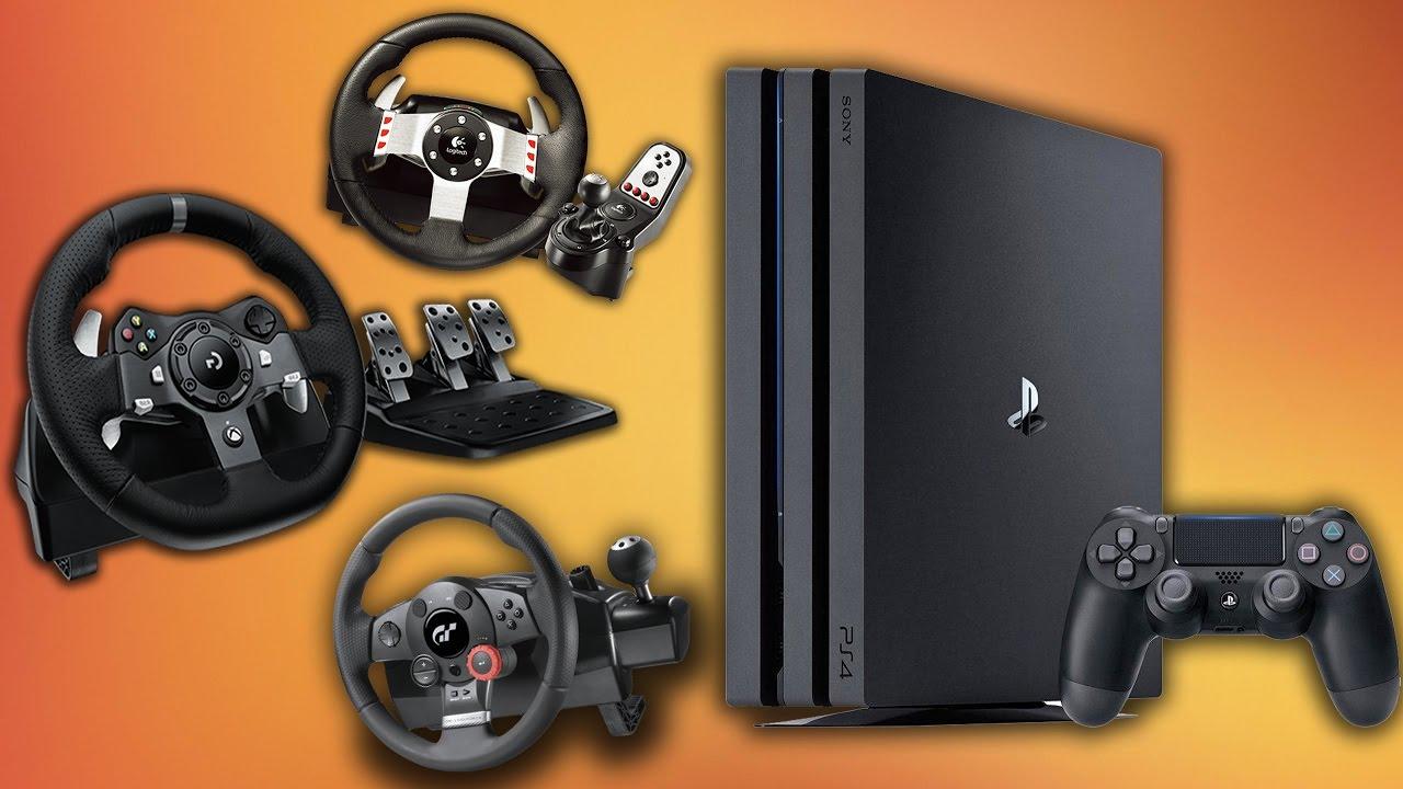 Снова в дороге: три игровых руля для PS4