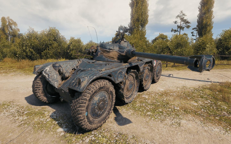 Премиум-танк: объявлено обновление PEBR 75 (FL 10)