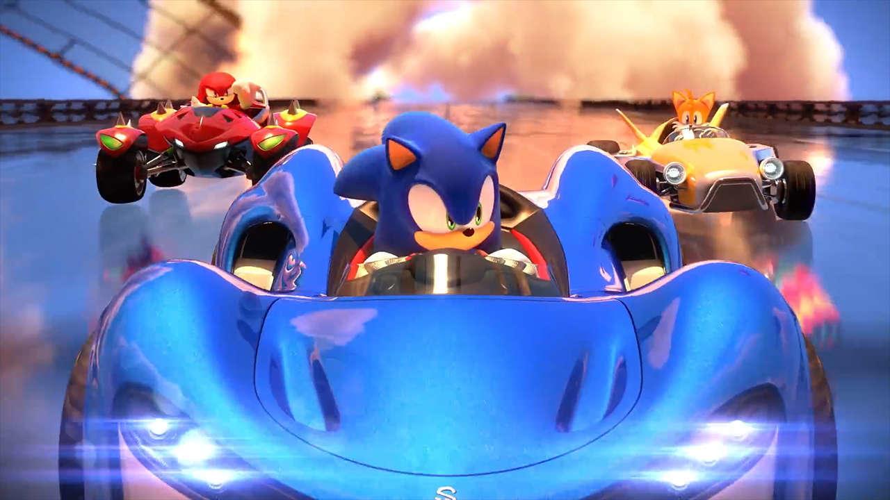 Модель старого образца: в Team Sonic Racing не будет персонажей из других франшиз