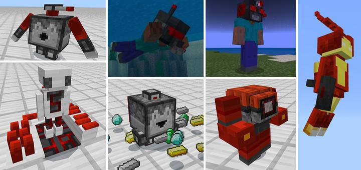 Восстание машин: мод Redstone Robots обновился