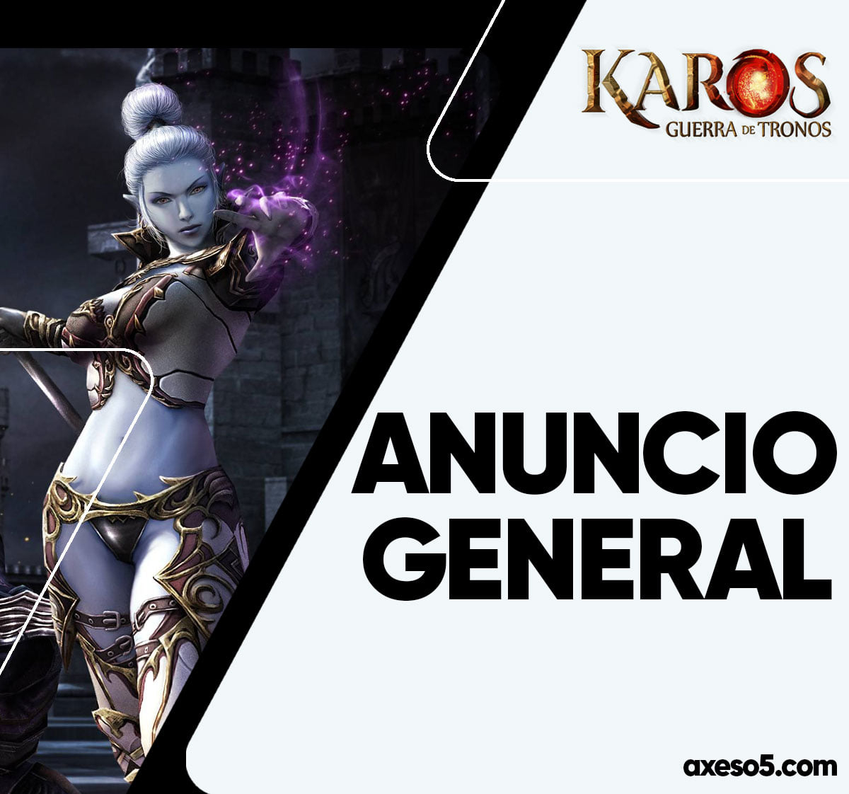 Закрытие проэкта Karos(rosh) Axeso5