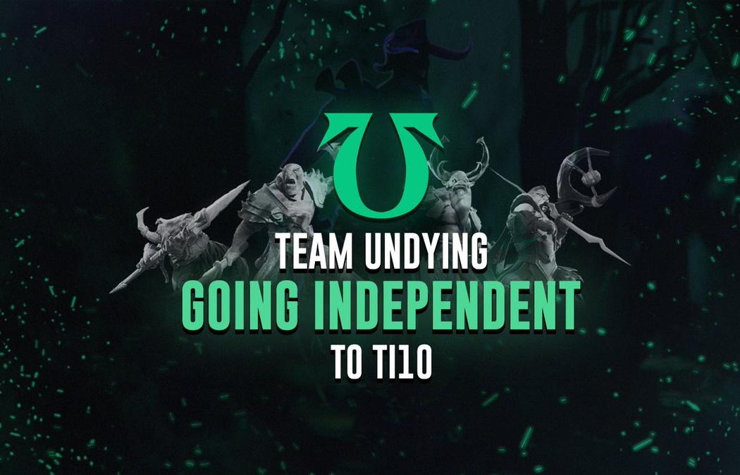 Сезон независимости: Team Undying примет участие в TI10 без спонсоров