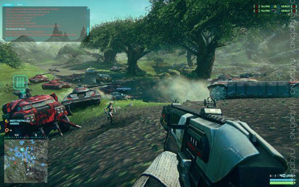 Уже принимаются заявки на участие в ЗБТ PS4-версии PlanetSide 2
