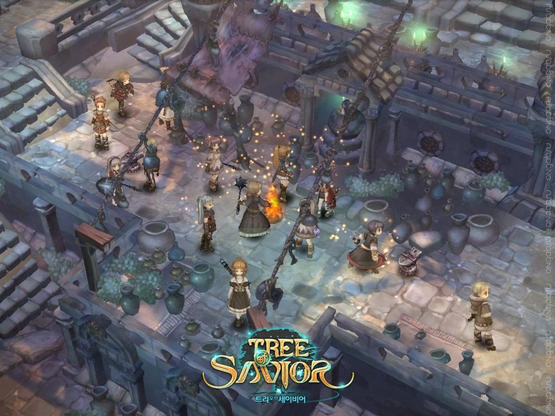 Запрет на ЗБТ-стрим и демонстрацию ЗБТ-видеов Tree of Savior