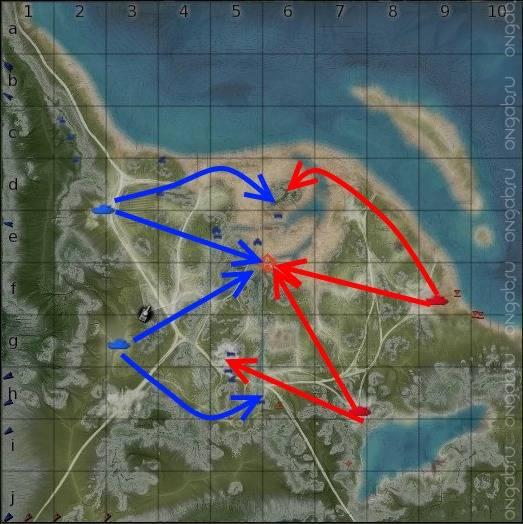 метки на карте в war thunder