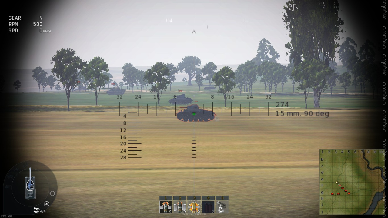 war thunder снайперский прицел