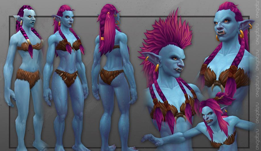 Новые модели троллей в World of Warcraft и очередные тизеры