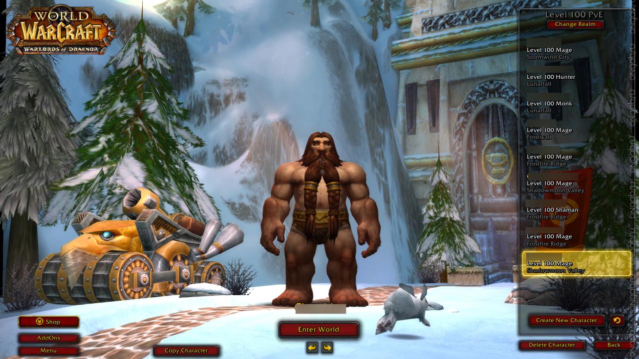 Билд 18738 беты дополнения Warlords of Draenor для World of Warcraft