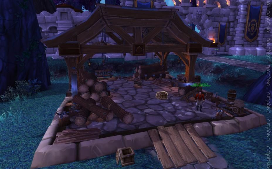 Гарнизонная лесопилка в World of Warcraft