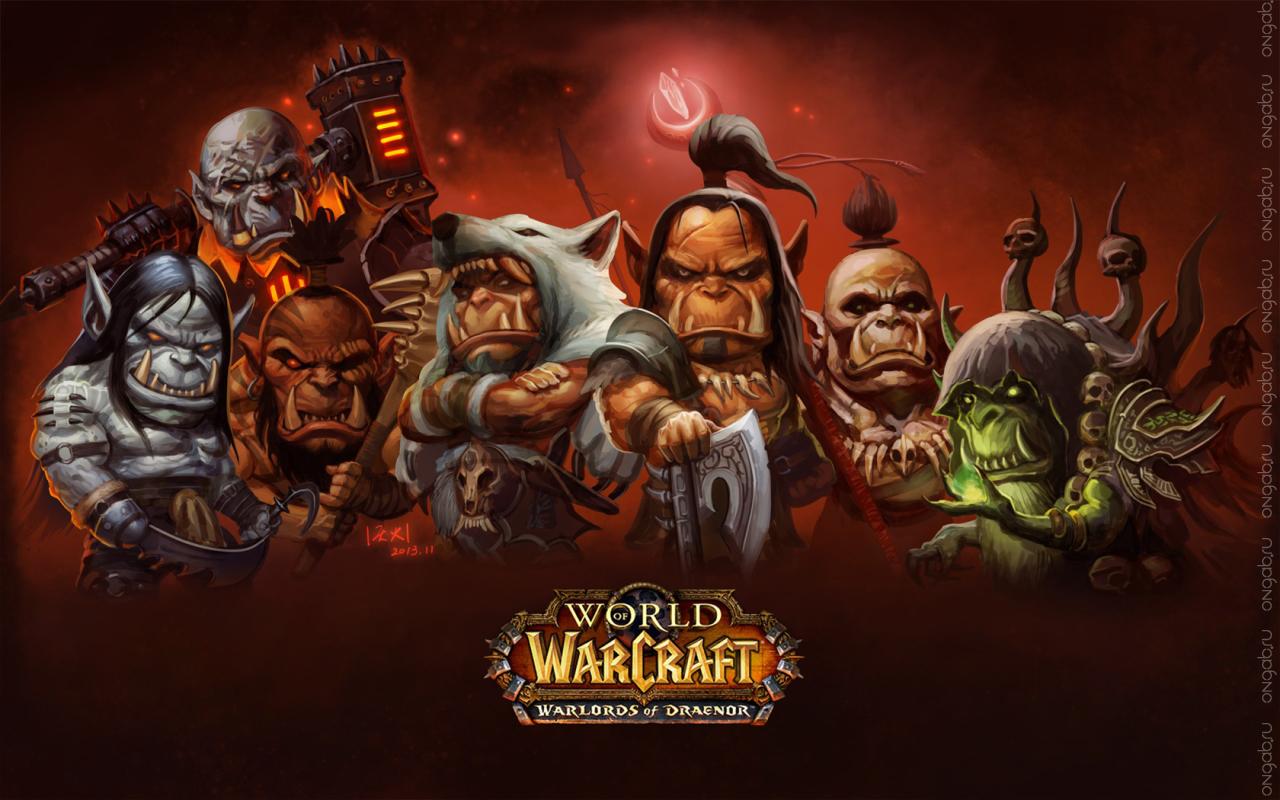Эволюция движка в дополнении Warlords of Draenor для World of Warcraft