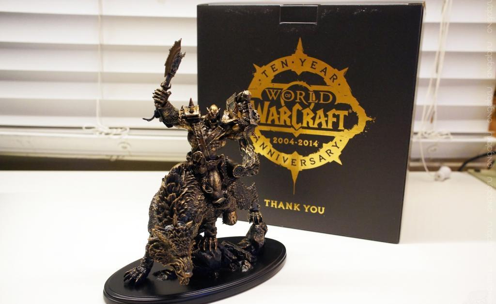 Подарки к 10 летней годовщине World of Warcraft