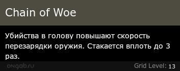 Chain of Woe