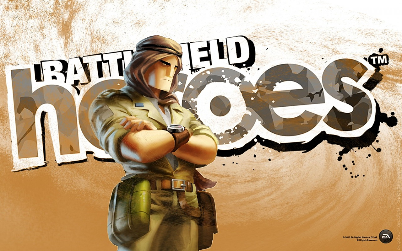 Скриншот Обои Battlefield Heroes, wallpaper #271264