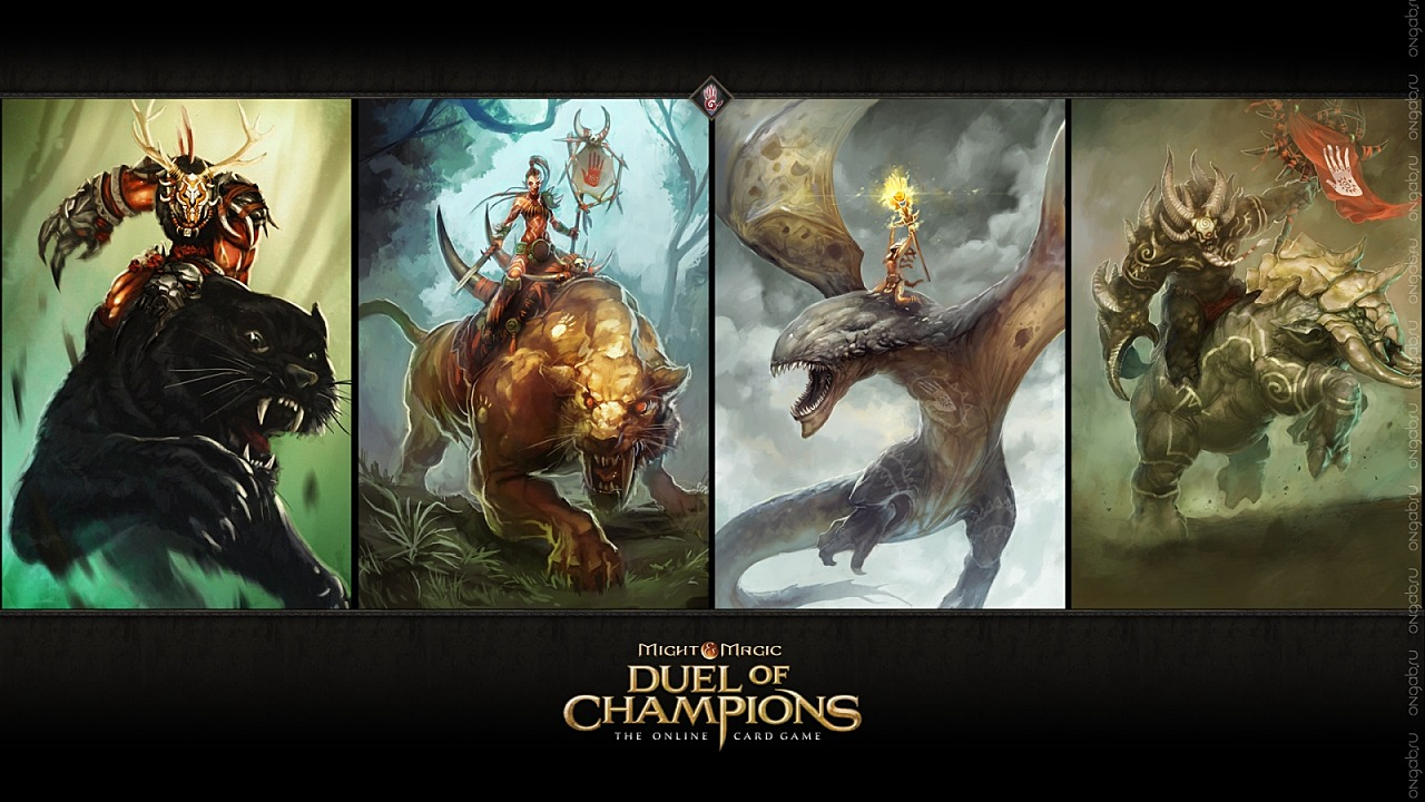 Скриншот HD обои, wallpaper Duel of Champions #265861