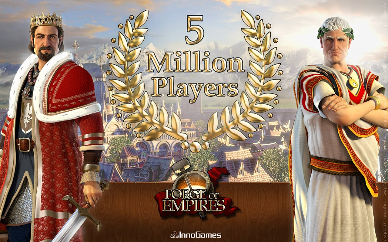 Скриншот Обои Forge of Empires, wallpaper #267689